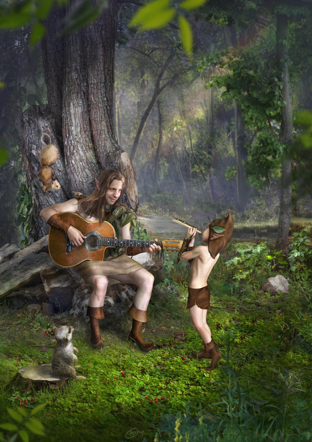 Лесные музыканты